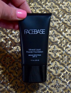 Facebase Mineral Liquid Foundation