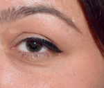 Eyelid Scar with Makeup on