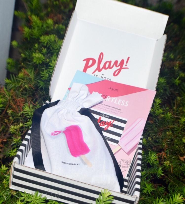 Sephora Play July 2016